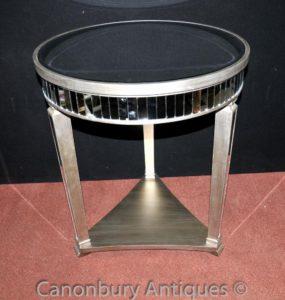 ビッグアールデコミラーテーブルサイドテーブルカクテルテーブル家具