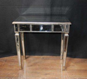 アールデコミラーコンソールテーブルホールテーブル
