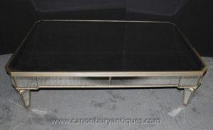 アールデコミラーテーブルのミラー家具