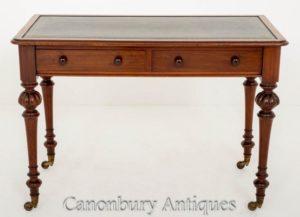 1860年頃のアンティーク・ビクトリアン・ライティング・テーブル・デスク